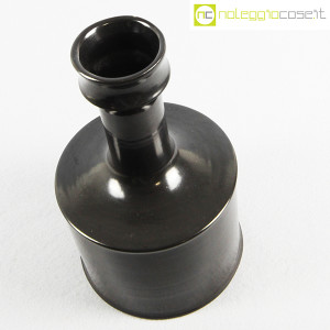 Ceramiche Bucci, vaso brocca nero, Franco Bucci (4)