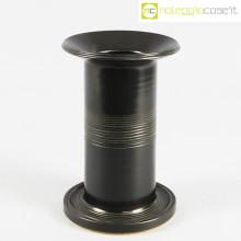 Ceramiche Bucci vaso colonna nero