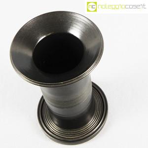 Ceramiche Bucci, vaso colonna nero, Franco Bucci (4)