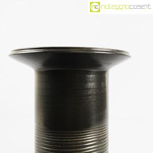 Ceramiche Bucci, vaso colonna nero, Franco Bucci (5)