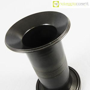 Ceramiche Bucci, vaso colonna nero, Franco Bucci (6)