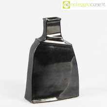 Ceramiche Bucci vaso irregolare nero