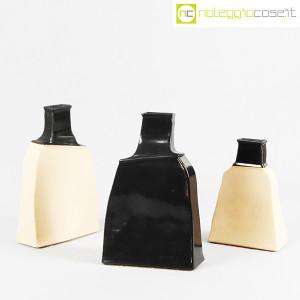 Ceramiche Bucci, vaso irregolare nero, Franco Bucci (9)