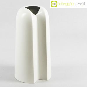 Ceramiche Franco Pozzi, vaso alto bianco, Ambrogio Pozzi (1)