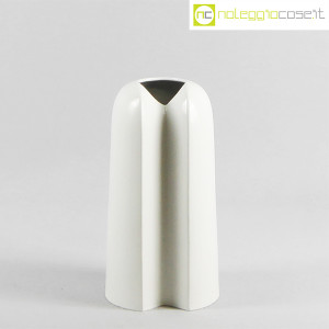 Ceramiche Franco Pozzi, vaso alto bianco, Ambrogio Pozzi (2)