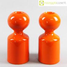 Gabbianelli candelieri Liisi arancione