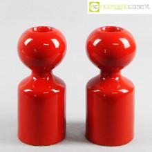 Gabbianelli candelieri Liisi rossi