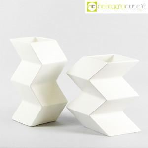 Milesi Ceramiche, coppia vasi a zig-zag (1)