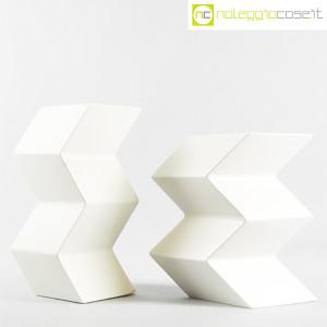 Milesi Ceramiche, coppia vasi a zig-zag (2)
