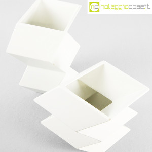 Milesi Ceramiche, coppia vasi a zig-zag (4)