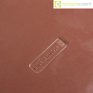 Olivetti, posacenere Synthesis vinaccia, Ettore Sottsass (8)