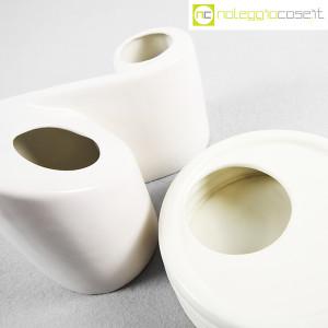 Parravicini Ceramiche, vaso e posacenere bianco (5)