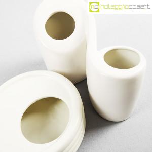 Parravicini Ceramiche, vaso e posacenere bianco (7)