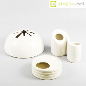 Parravicini Ceramiche, vaso e posacenere bianco (9)