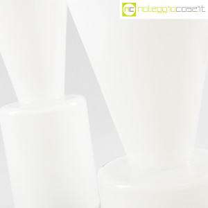 Ambrogio Pozzi Design, coppia di vasi in vetro incamiciato bianco, Ambrogio Pozzi (5)