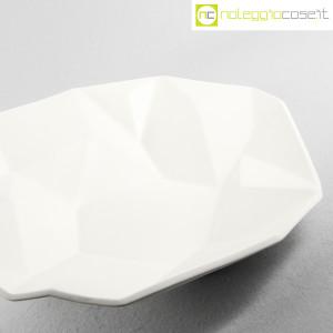 Centrotavola grande sfaccettato in ceramica bianca (6)