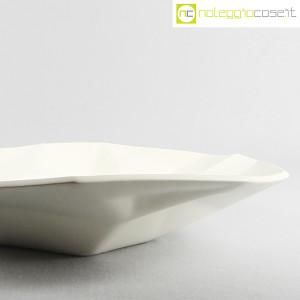 Centrotavola grande sfaccettato in ceramica bianca (8)