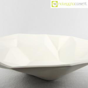 Centrotavola grande sfaccettato in ceramica bianca (9)