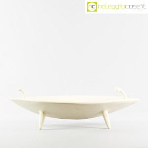 Ceramica Pezzetta, grande centrotavola in ceramica bianco matte, Ambrogio Pozzi (2)