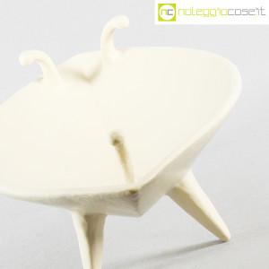 Ceramica Pezzetta, grande centrotavola in ceramica bianco matte, Ambrogio Pozzi (5)