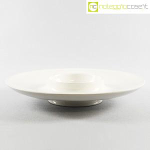 Ceramiche Brambilla, grande centrotavola bianco, Angelo Mangiarotti (1)