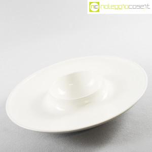Ceramiche Brambilla, grande centrotavola bianco, Angelo Mangiarotti (3)
