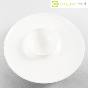 Ceramiche Brambilla, grande centrotavola bianco, Angelo Mangiarotti (4)
