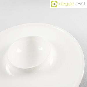 Ceramiche Brambilla, grande centrotavola bianco, Angelo Mangiarotti (6)