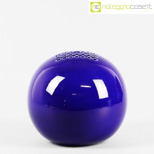 Ceramiche Bucci, grande vaso sfera blu, Franco Bucci (2)