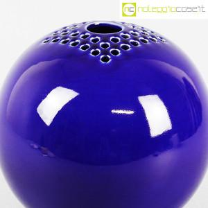 Ceramiche Bucci, grande vaso sfera blu, Franco Bucci (5)