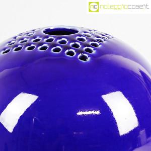 Ceramiche Bucci, grande vaso sfera blu, Franco Bucci (6)
