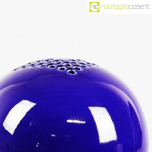 Ceramiche Bucci, grande vaso sfera blu, Franco Bucci (7)