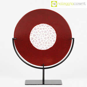 Nason Murano, disco scultura con base (1)