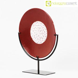 Nason Murano, disco scultura con base (3)