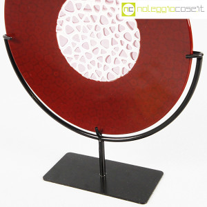 Nason Murano, disco scultura con base (8)