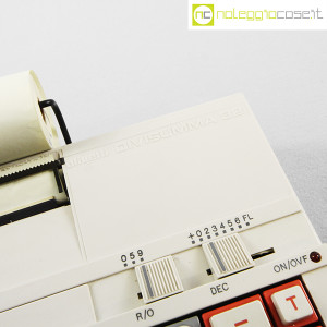 Olivetti, calcolatrice con stampante Divisumma 32, Mario Bellini (8)