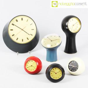 Secticon, orologio da tavolo T2 rosso e bianco, Angelo Mangiarotti (9)