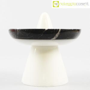 Up&Up, centrotavola in marmo bianco e nero (2)