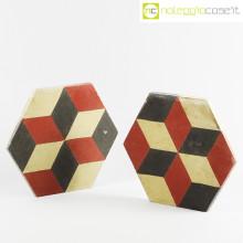 Cementine con decori geometrici