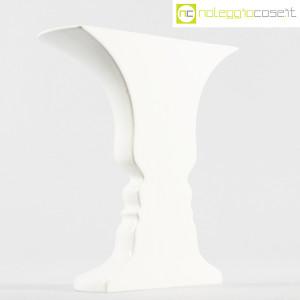 Ceramiche Franco Pozzi, vaso bianco serie Presenze, Ambrogio Pozzi (1)