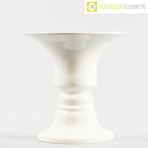 Ceramiche Franco Pozzi, vaso bianco serie Presenze, Ambrogio Pozzi (2)