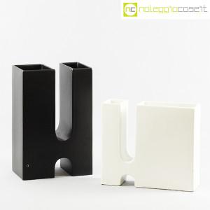 Ceramiche Franco Pozzi, vaso nero Progetto Ensamble, Pierre Cardin (9)