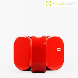 Ceramiche Franco Pozzi, vaso rosso serie Forme Primarie, Ambrogio Pozzi (2)