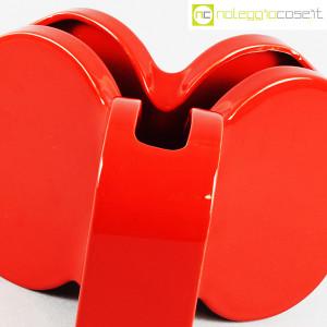 Ceramiche Franco Pozzi, vaso rosso serie Forme Primarie, Ambrogio Pozzi (5)