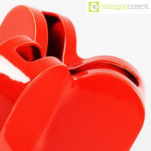 Ceramiche Franco Pozzi, vaso rosso serie Forme Primarie, Ambrogio Pozzi (7)