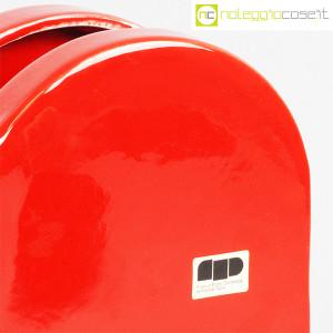 Ceramiche Franco Pozzi, vaso rosso serie Forme Primarie, Ambrogio Pozzi (9)