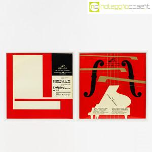 Dischi in vinile 33 giri, copertine di Bruno Munari – set 01 (1)