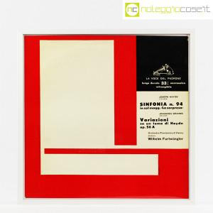 Dischi in vinile 33 giri, copertine di Bruno Munari – set 01 (2)