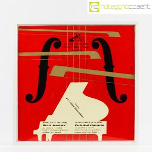 Dischi in vinile 33 giri, copertine di Bruno Munari – set 01 (3)
