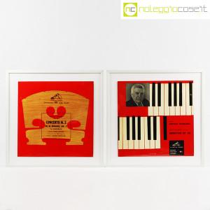 Dischi in vinile 33 giri, copertine di Bruno Munari – set 02 (1)